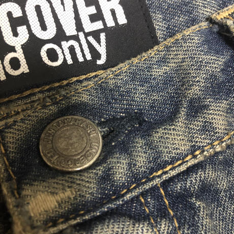 """13SS UNDER COVER """"one and only"""" Docking denim pants"""