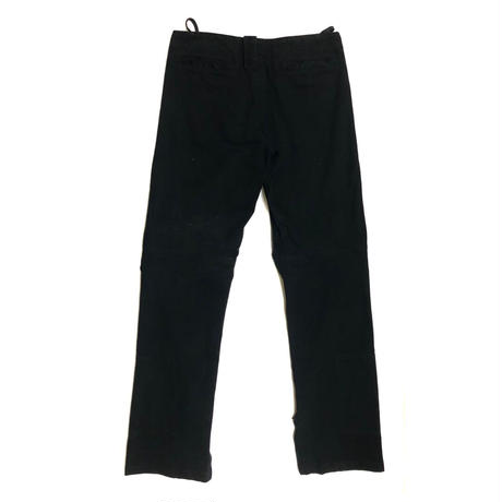 1999AW HELMUT LANG Parachute zip denim pants