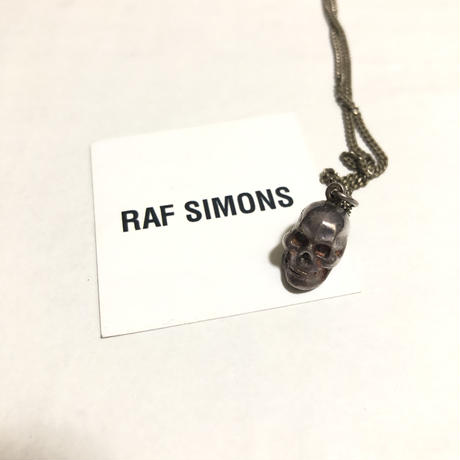 """2004SS RAF SIMONS """"Religious Period"""" Skull Necklace """"DEAD STOCK"""""""