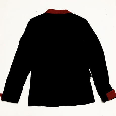 08AW COMME des GARCONS HOMME PLUS Switching velvet jacket size S