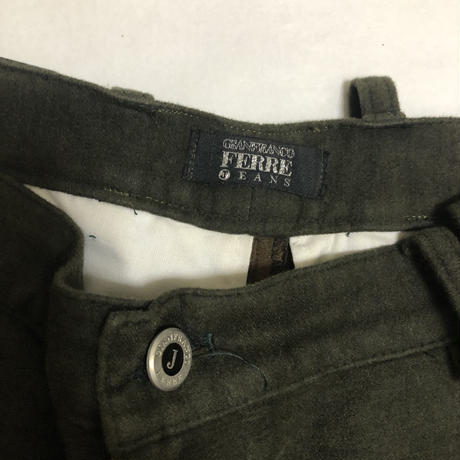 90's GIANFRANCO FERRE JEANS Hand pocket gimmick pants Size 34