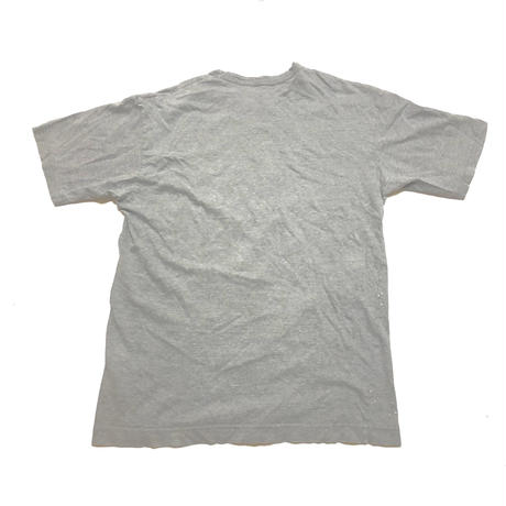 AD2001 COMME des GARCONS HOMME Lame paint logo T-shirts Size Free