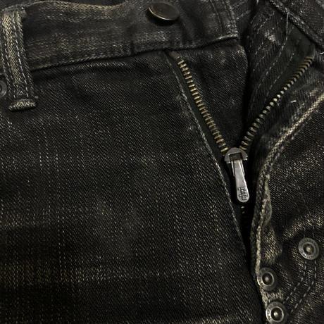 2006AW Number (N)ine by Takahiro Miyashita  Heart patch zip denim Size 2×30