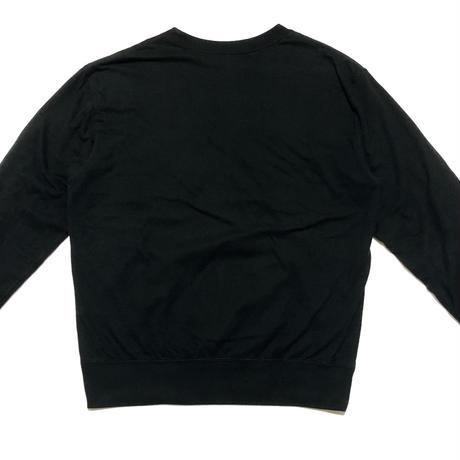2004AW Yohji Yamamoto POUR HOMME Hawk&cherry blossom embroidery sweatshirt Size 3
