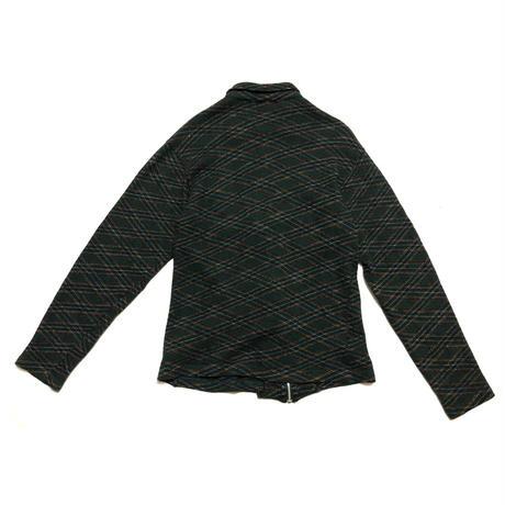 AD2003 COMME des GARCONS HOMME Fine wool zip knit jacket Size S