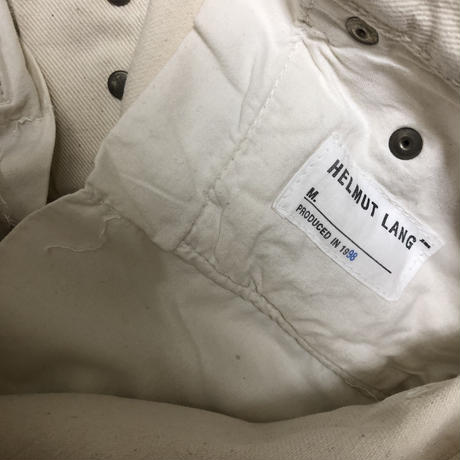 "AD1998 Helmut Lang  Rust Processing Pants ""Dead Stock"""