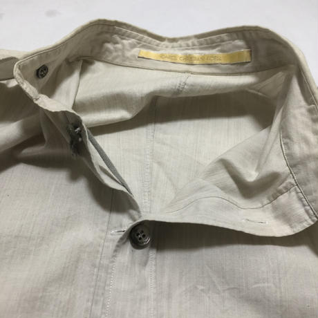 01SS CAROL CHRISTIAN POELL Reversible shirt size 44
