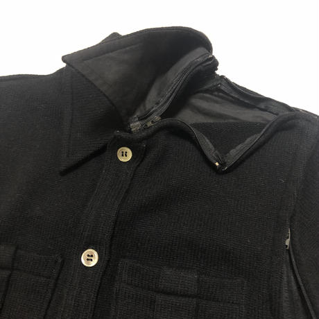 """1998AW UNDERCOVER """"EXCHANGE"""" Small parts wool jacket Size Free"""