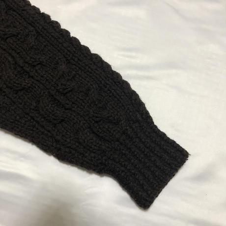 AD1989 COMME des GARCONS HOMME Oversize cable knit Size Free
