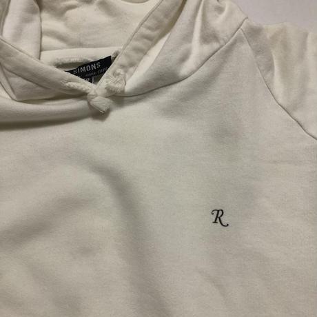 "1998AW RAF SIMONS  ""RADIOACTIVITY"" R Logo hoodie Size 50"
