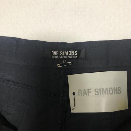"05AW Raf Simons ""POLTERGELST""  Military MA-1 Pants"