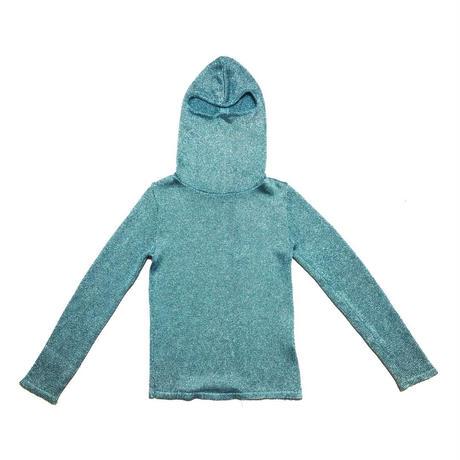 UNDERCOVER Fullface lame hoodie