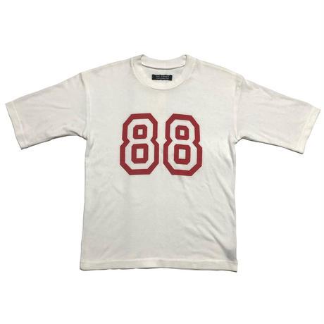 "00SS RAF SIMONS ""SUMMER CUM LAUDE"" Number 88 Oversize T-shirts Size 46"