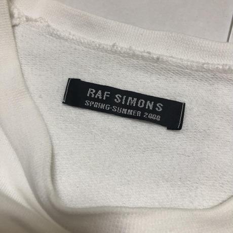 00SS RAF SIMONS Oversize sweat shirt Size 48