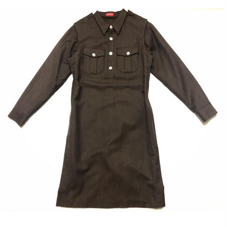 """1998AW UNDERCOVER """"EXCHANGE"""" Long sleeve dress"""