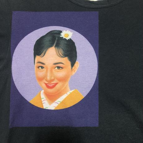 2002SS Yohji Yamamoto POUR HOMME Saeko Print T-shirt
