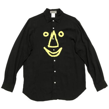 "91AW Yohji Yamamoto POUR HOMME ""6.1 the men"" Smiles shirts Size M"