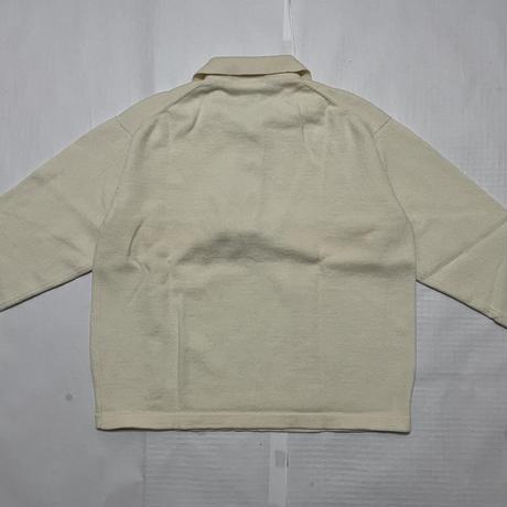 "1993AW Yohji Yamamoto POUR HOMME Wool sweater shirt Size M ""DEAD STOCK"""