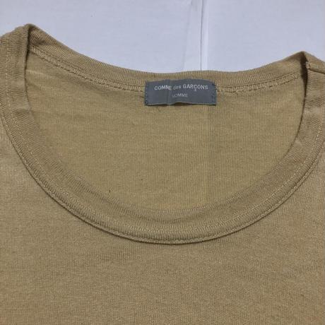 AD1996 COMME des GARCONS HOMME Logo Oversize T-shirts Size Free