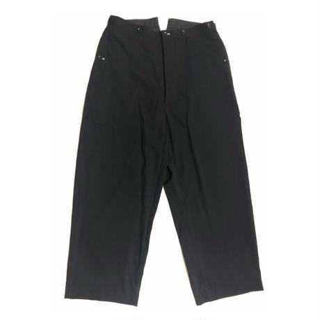 Yohji Yamamoto POUR HOMME Suspenders button wool pants Size 4