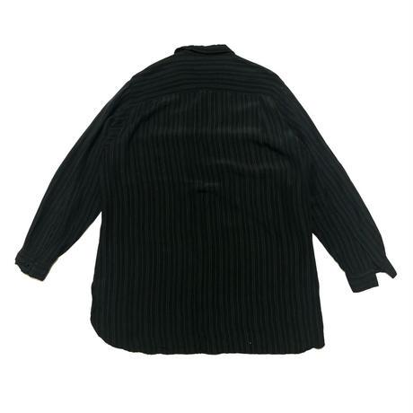 90's Yohji Yamamoto POUR HOMME Open collar oversized shirt Size M