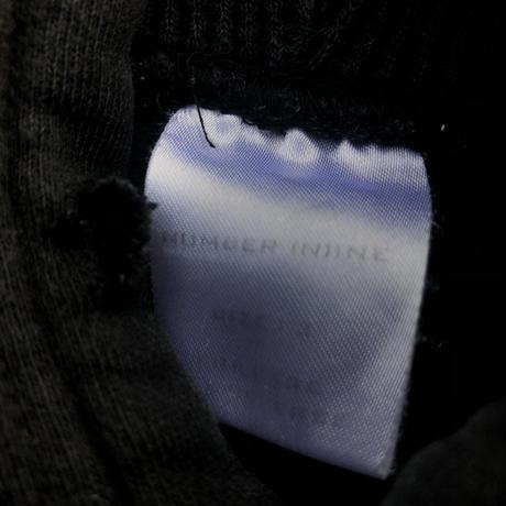 01aw number (n)ine Emblem damage parka
