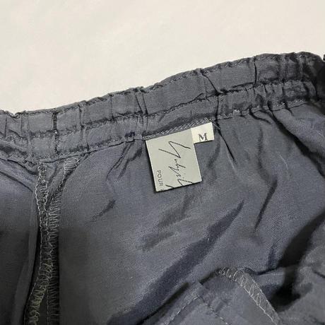 1997SS Yohji Yamamoto POUR HOMME Nylon wide easy pants Size M