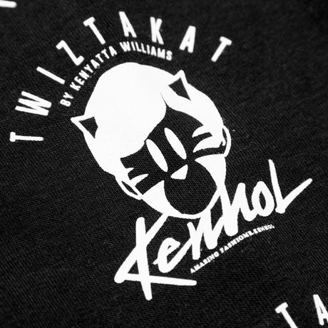 4TH ANNIVERSARY TWIZTAKAT × KENHOL/HOODIE  for YOUTH  BLACK