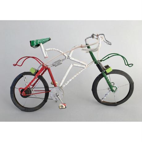 マダガスカル リサイクルアート Green自転車