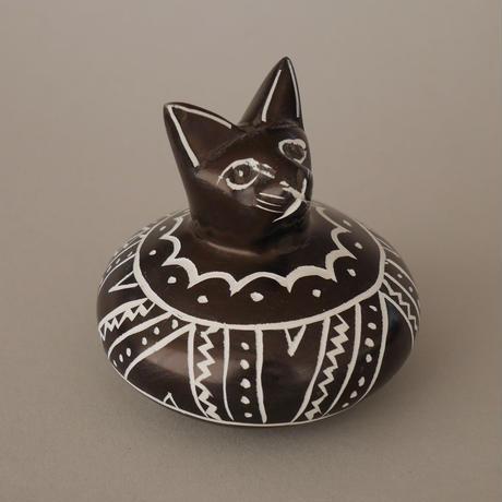 ソープストーン 達磨の猫さん
