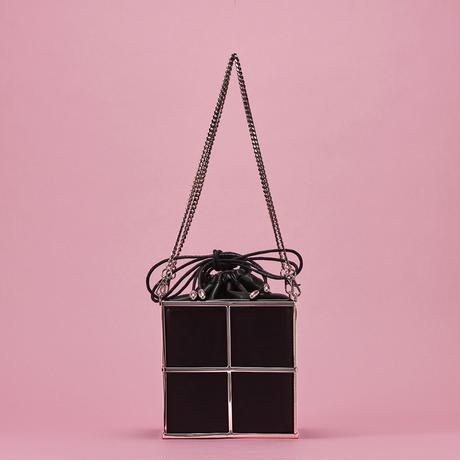 Metal tote bag - SILVER