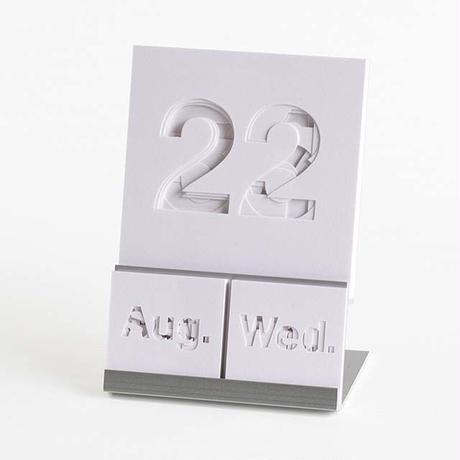 万年カレンダー LAYER #02 snow