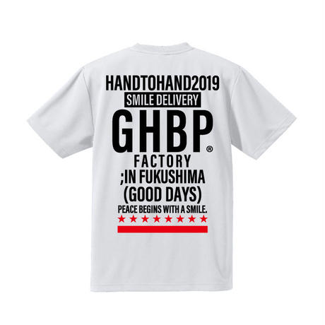HAND TO HANDチャリティーTシャツ2019