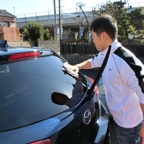 お客様自身のクルマを僕と一緒に洗車する洗車教室