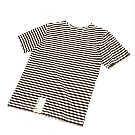 Russian Military Stripe S/S T-Shirt Black