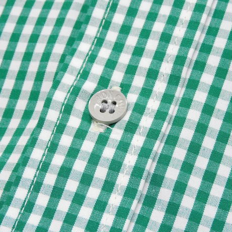 Boncoura Pullover BD Shirt Green Gingham