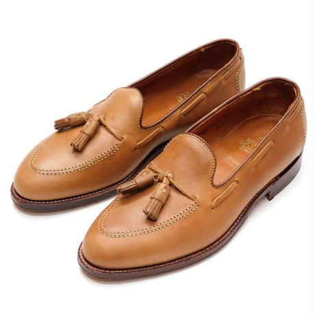 Brooks Brothers Tassel Loafer Natural