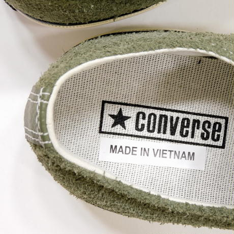 Converse Chuck Taylor 70s Suede Olive