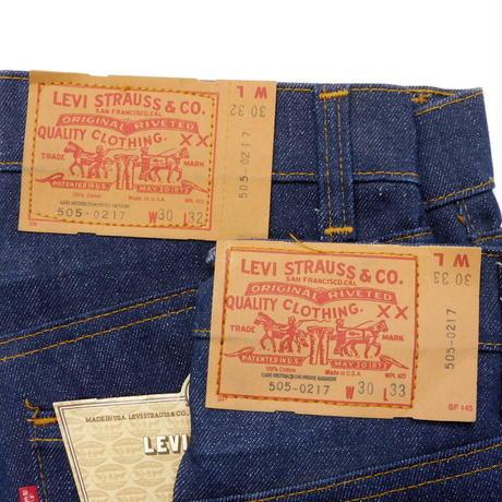 1980s Deadstock Levis 505 RedTab W30