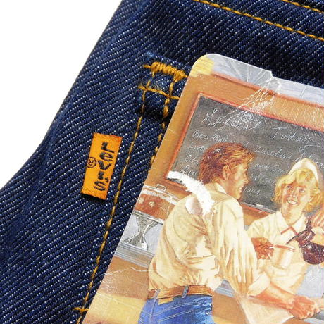1990s Deadstock Levis 517 Orange Tab W31