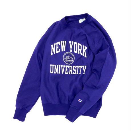 Champion Reverse Weave NYU Purple