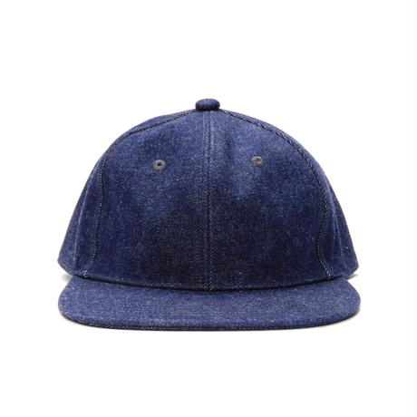Boncoura USN  Natural Indigo Denim Cap