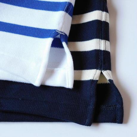 Boncoura Breton Shirt Navy × White