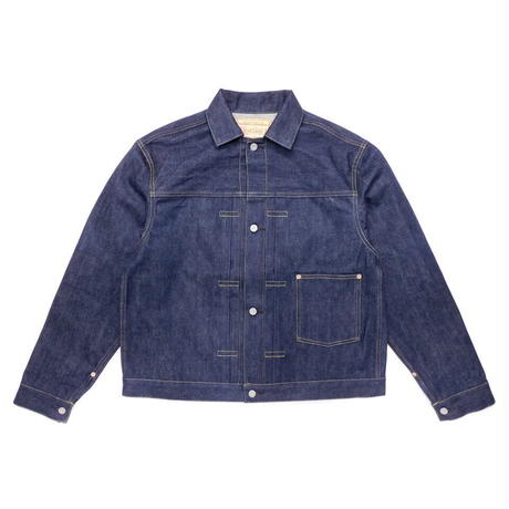 Boncoura Natural Indigo WWII  Denim Jacket