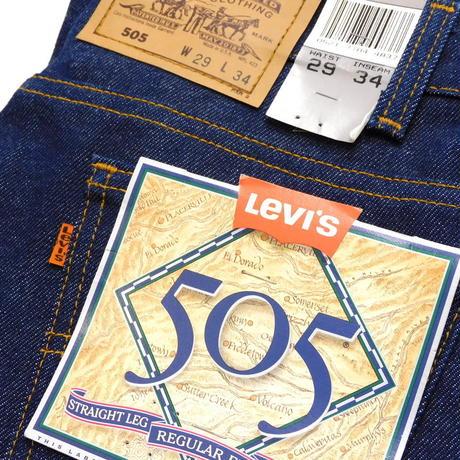 1990s Deadstock Levis 505 Orange Tab W29