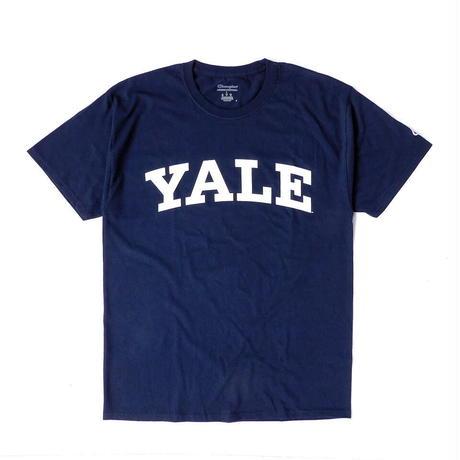 Champion YALE Logo T-Shirt【2色展開】