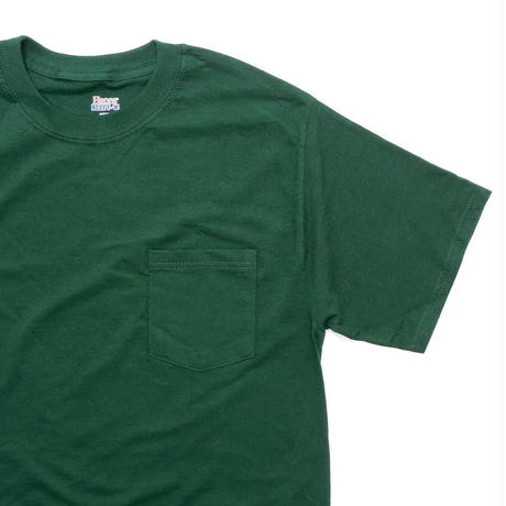 Hanes Beefy Pocket T-Shirt Deep Forest