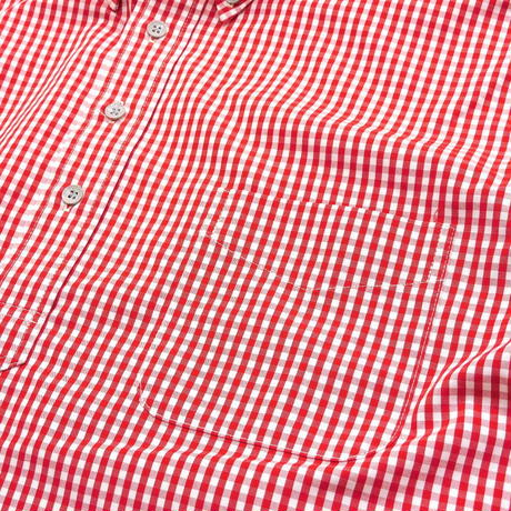 Boncoura Pullover BD Shirt Red Gingham