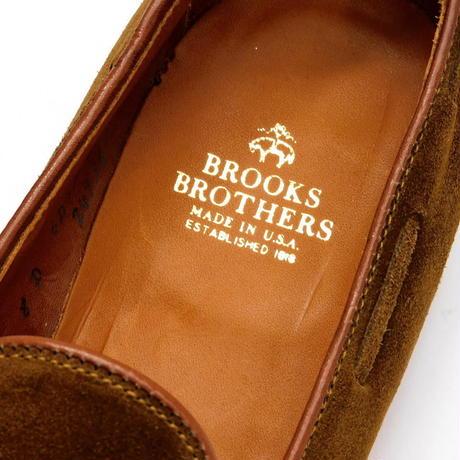Brooks Brothers Tassel Loafer Brown Suede