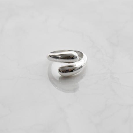 【limited】silver925 drop line ring